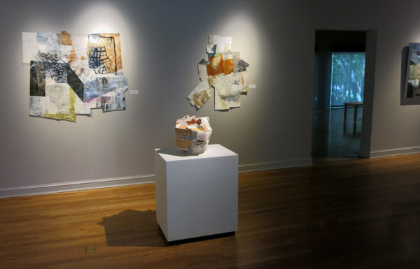 linnie brown, maps of insufficient clarity, mixed media art, finch lane gallery